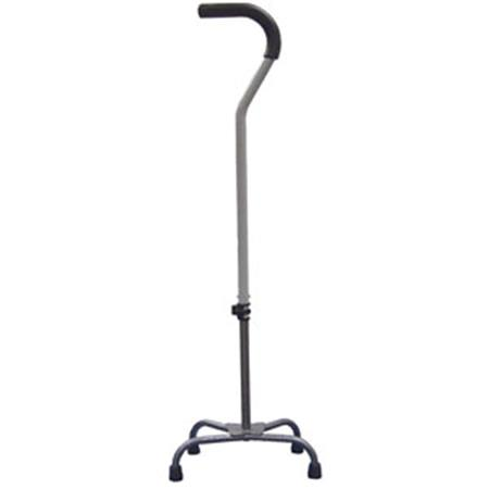 Quad Cane Large Base With Straight Handle