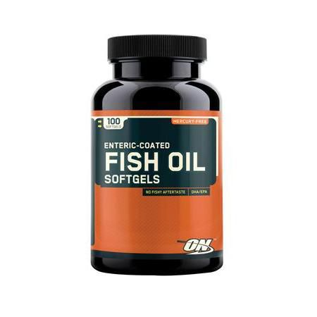 Fish Oil Softgels, 100 Count