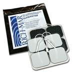 RichMar Super Stim Cloth Electrodes with Silver Matrix 4/Pack