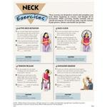 Neck Exercises, 50 Tear-Off Sheets/Pad