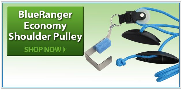 BlueRanger Economy Shoulder Pulley