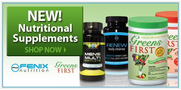 New! Nutritional Supplements