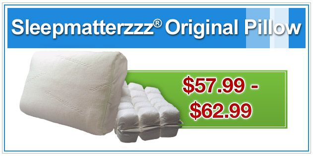 Sleepmatterzzz Original Pillow