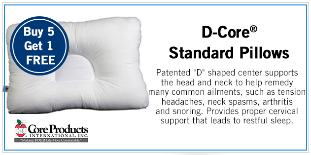 D Core Standard Pillows