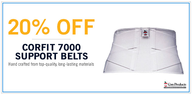 20% Off Corfit 7000 Support Belts