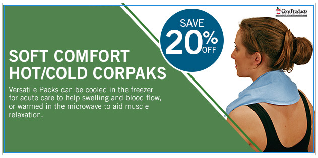 Save 20% Off on Soft Comfort Hot/Cold CorPaks