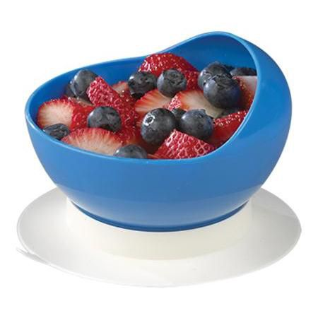 Scooper Bowl With Suction Cup Base Adaptive Bowl Dining Aid