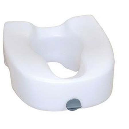 Premium Elevated Reg/Elongated Toilet Seat W/ Lock