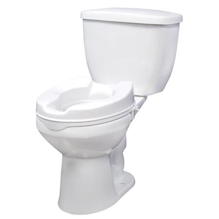"Drive Raised Toilet Seat 2"" Without Lid"