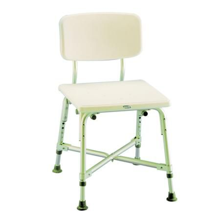 Invacare Bariatric Shower Seat With Back