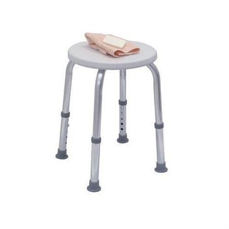 Round Shower Seat With Adjustable Height Legs