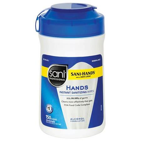 Sani-Hands Wipes