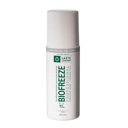 Biofreeze Pro Gel - 3 Oz Roll-On Colorless