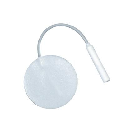 "Scrip Reusable Electrodes 1.375"" Round 4/Pkg"
