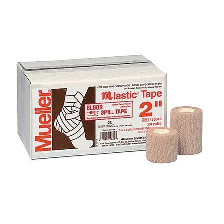 "Mueller Mlastic Tape 2"" X 5 Yds, 24 Rolls/Package"