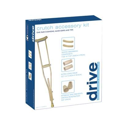 Crutch Accessory Kit, Large And Jumbo