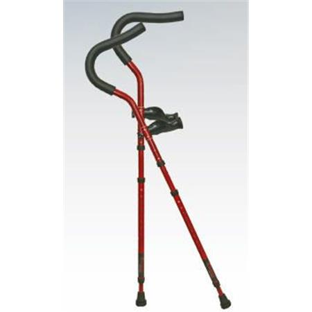Millennial Crutch In-Motion Pro Folding Crutches, Pair