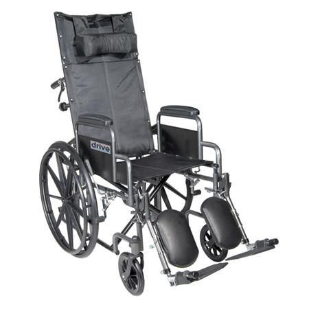 Drive Silver Sport Reclining Wheelchair