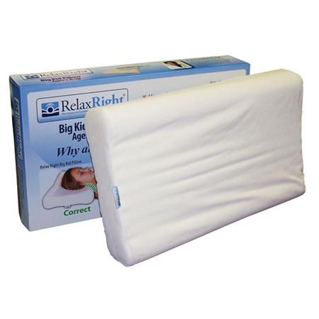 Relax Right Big Kid Memory Foam Pillow