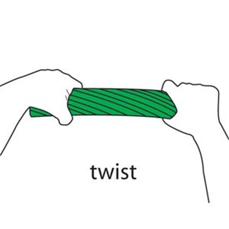 Cando Twist-N-Bend Resistive Exercise Bar