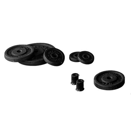 Disc Weight Set (4-2.5Lb, 8-5Lb, 4-10Lb)