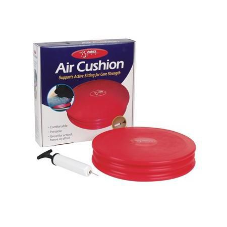 "Fitball Air Cushion, 12.5"" Red"