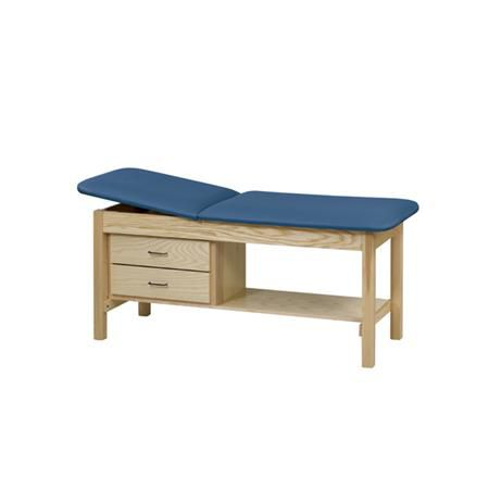 Straight Line Treatment Table With Cabinet And Drawer 27""