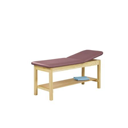 Straight Line Treatment Table W/ 1 Shelf, 24""