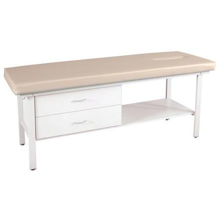 Advantage Treatment Table With Face Slot & Drawers