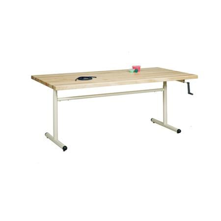 "Group Therapy 48"" Table - Hand Crank Height Adjust"