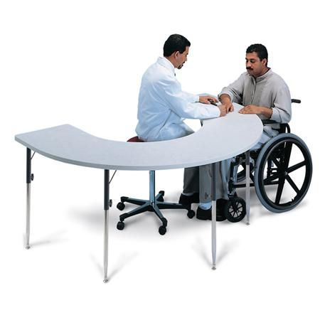 Hausmann Horseshoe Adjustable Activity Table