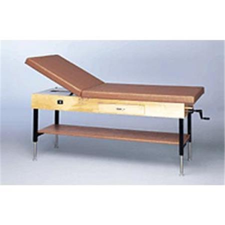 "Crank Adjustable Hi-Low Treatment Table 25""-33""H"