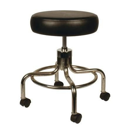 Buy Galaxy Adjustable Exam Stool Black