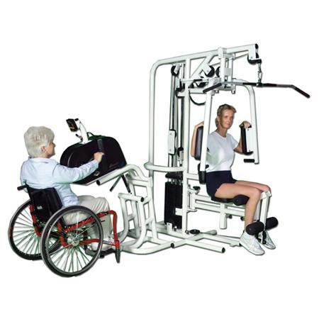 Pro Gym With Cycle & Table