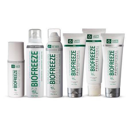 Biofreeze Pro - Buy 10 Rolls & Sprays Gt2 Mix Free