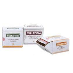Millenia Acupuncture Needles .16Mm, #40, .5' Detox