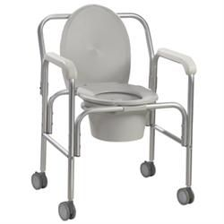 Drive Aluminum Wheeled Commode