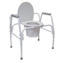 Mabis/Dmi Extra-Wide Heavy Duty Steel Commode