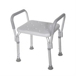 Bath Bench W/Removable Padded Arms W/O Backrest