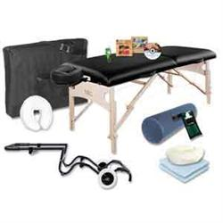 NRG Massage Table With The Works - Upgrade