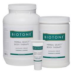 BIOTONE® Herbal Select™ Body Massage Crème - Massage Cream & Lotion