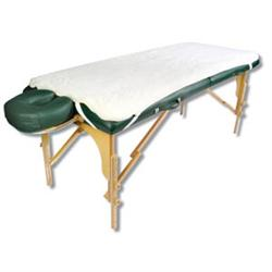 NRG Fleece Table Pad - Massage Table Fleece Pad - Natural
