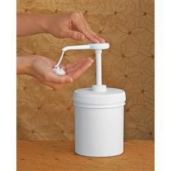 Perfect Cream Dispenser 36Oz Reuseable Pump W/Jar
