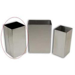 Standard Stainless Steel Waste Receptacle, 48 Qt