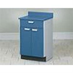 Mobile Treatment Cabinet W/ 2 Doors & 1 Drawer