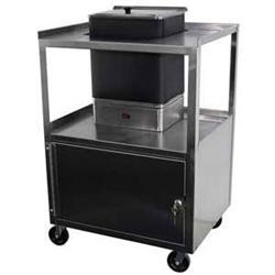 Ideal Service Center Cart With Cabinet For E1 Hydrocollator Unit