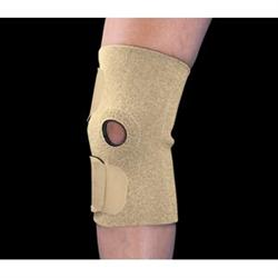 Fits-All Neoprene Open Patella Knee Support, Husky