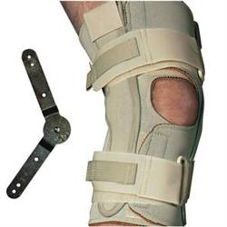 Range Of Motion Hinged Knee Wrap Open Popliteal