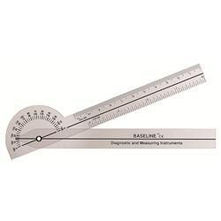 180 Degree Clear Plastic Pocket Goniometer- 6'
