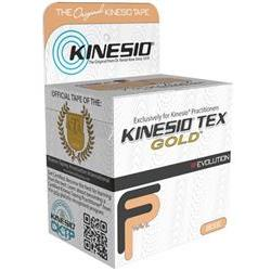 Kinesio Tex Tape, Water Repellent, 1' X 16.4', 2 Rolls/Pkg, Beige